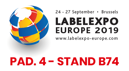 Labelexpo Europe24-27 Settembre 2019Fiera Bruxelles ExpoPad. 4 - Stand B74